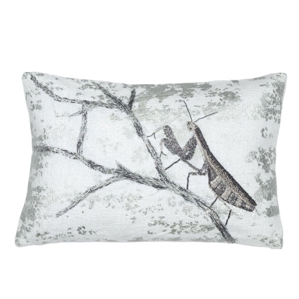 Michael Aram Branch Decorative Pillow - Silver