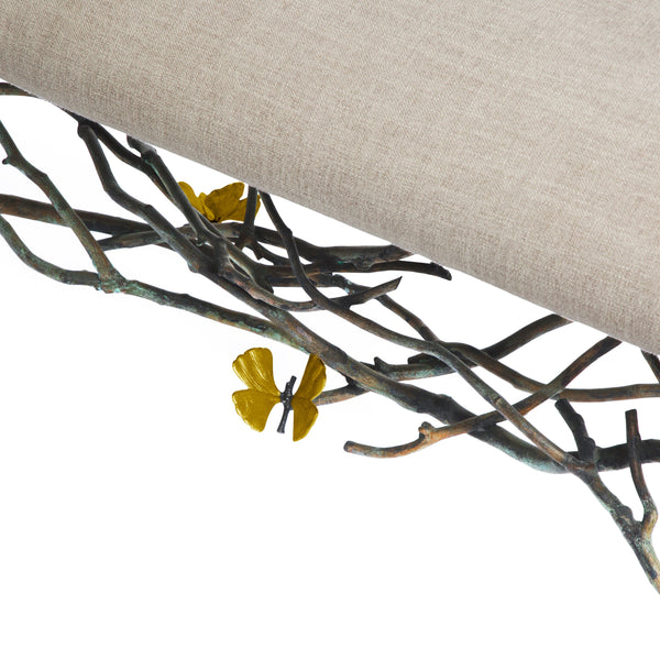 Michael Aram Butterfly Ginkgo Bench