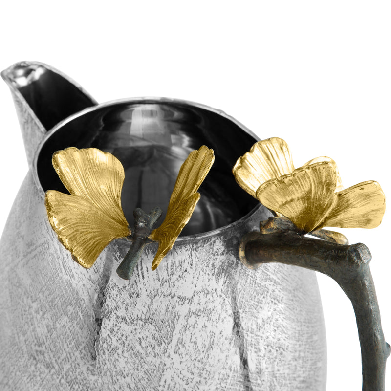 Michael Aram Butterfly Ginkgo Pitcher