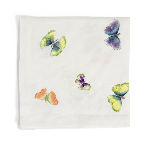 Michael Aram Butterfly Ginkgo Printed Dinner Napkin