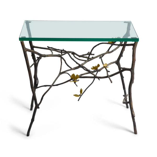 Michael Aram Butterfly Ginkgo Side Table