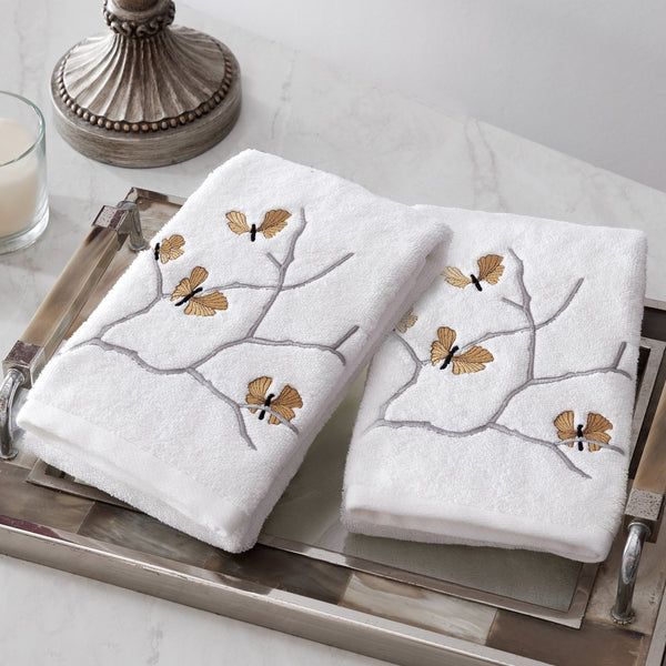 Michael Aram Butterfly Ginkgo Towel Set