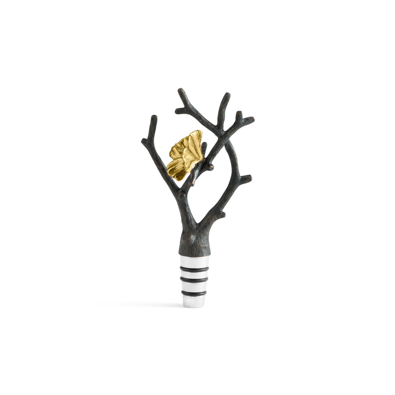 Michael Aram Butterfly Ginkgo Wine Stopper