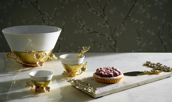 Michael Aram Cherry Blossom Porcelain Serving Bowl