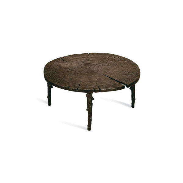 Michael Aram Enchanted Forest Coffee Table Oxidized