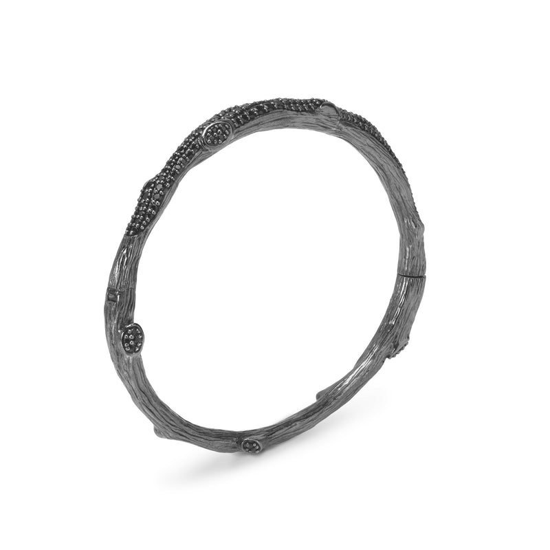 Michael Aram Enchanted Forest Pave Bangle Bracelet with Diamonds