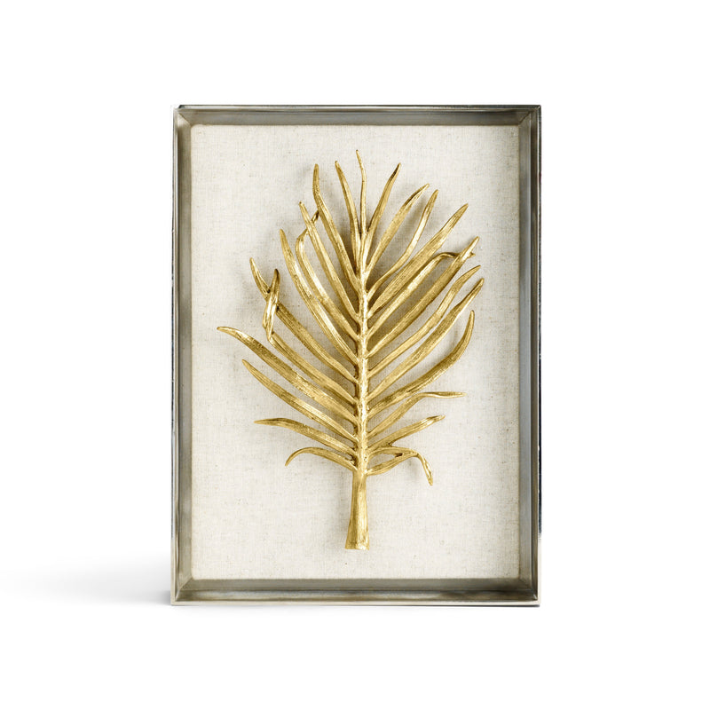 Michael Aram Fan Palm Fabric Shadow Box