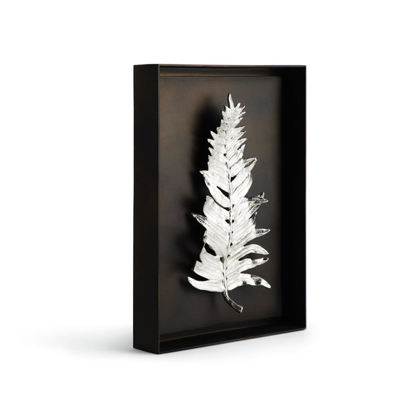 Michael Aram Fern Shadow Box Antique Nickel