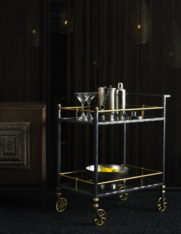 Michael Aram Forged Bar Cart