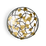 Michael Aram Golden Ginkgo Medium Glass Bowl