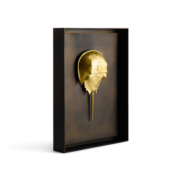 Michael Aram Horseshoe Crab Shadow Box