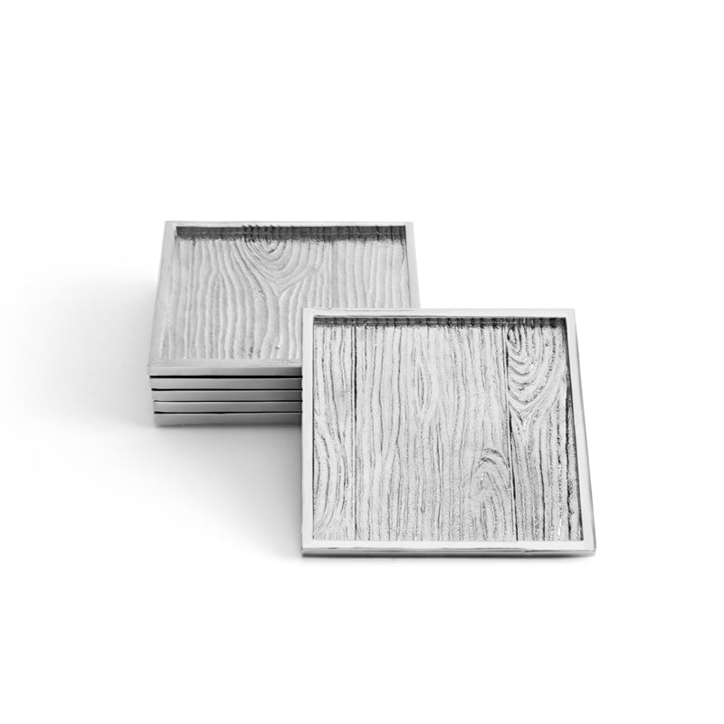Michael Aram Ivy & Oak Coaster Set