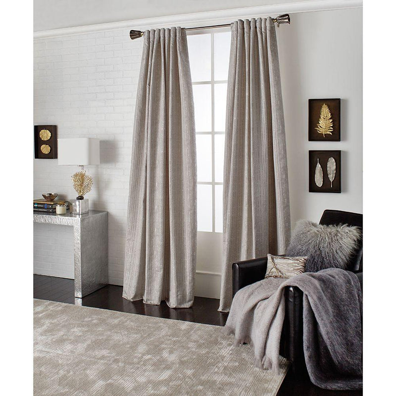 Michael Aram Joshua Tree Back Tab Curtain - Silver