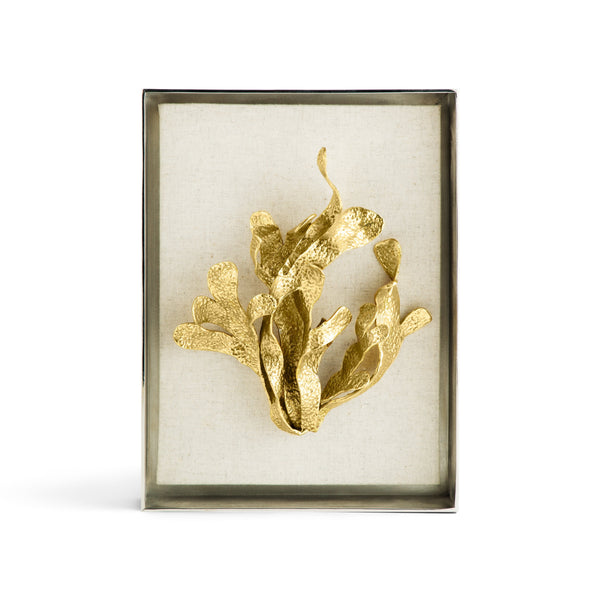 Michael Aram Kelp Fabric Shadow Box