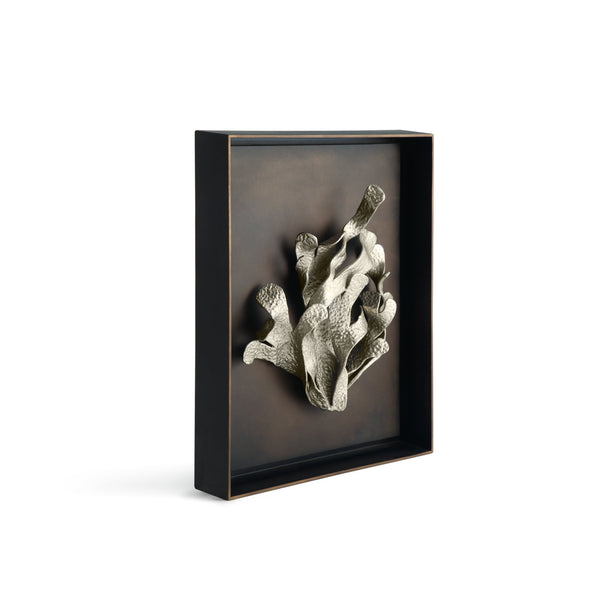 Michael Aram Kelp Shadow Box Antique Nickel