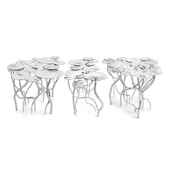 Michael Aram Lily Pad Coffee Table Set