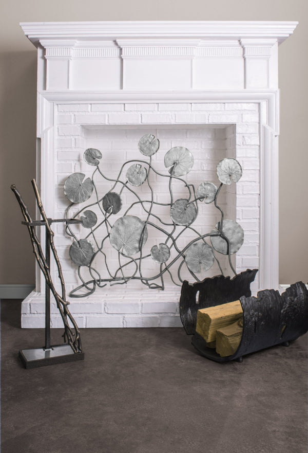 Michael Aram Lily Pad Decorative Firescreen