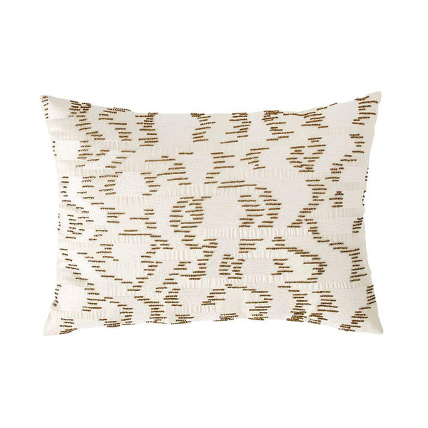 Michael Aram Lily Pad Watermark Decorative Pillow - Ivory
