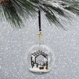 Michael Aram Manger Snow Globe Ornament