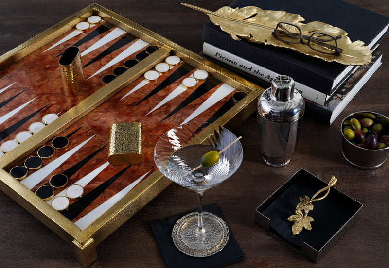 Michael Aram Marble Backgammon