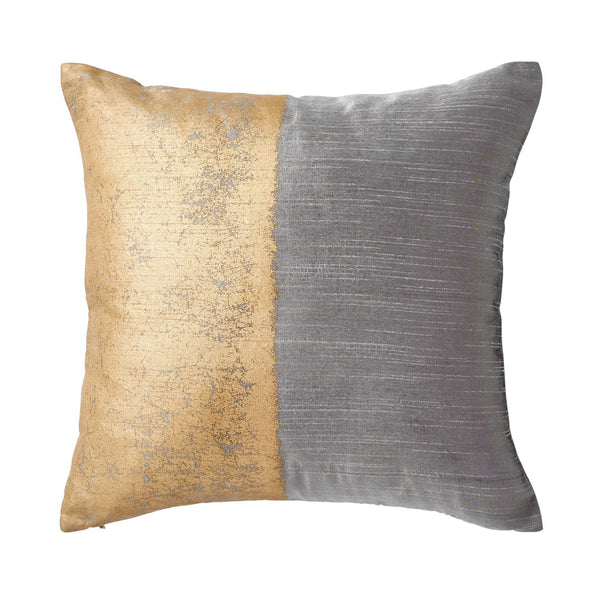 Michael Aram Metallic Texture Decorative Pillow - Grey