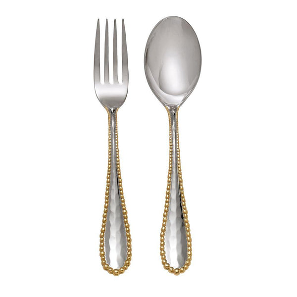Michael Aram Molten Gold Serving Set
