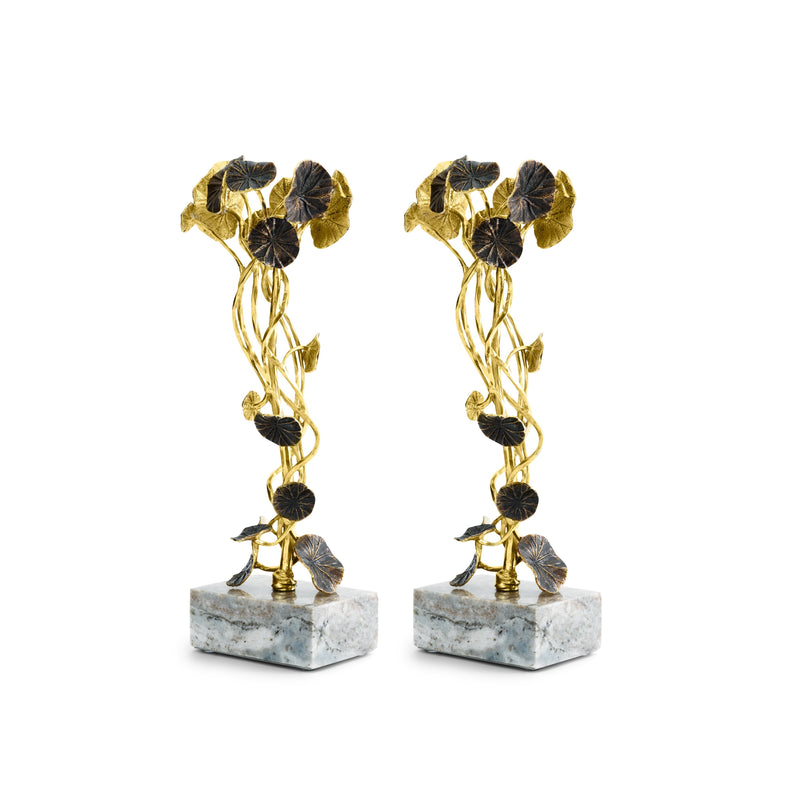 Michael Aram Monet's Garden - Golden Sunset Medium Candleholders