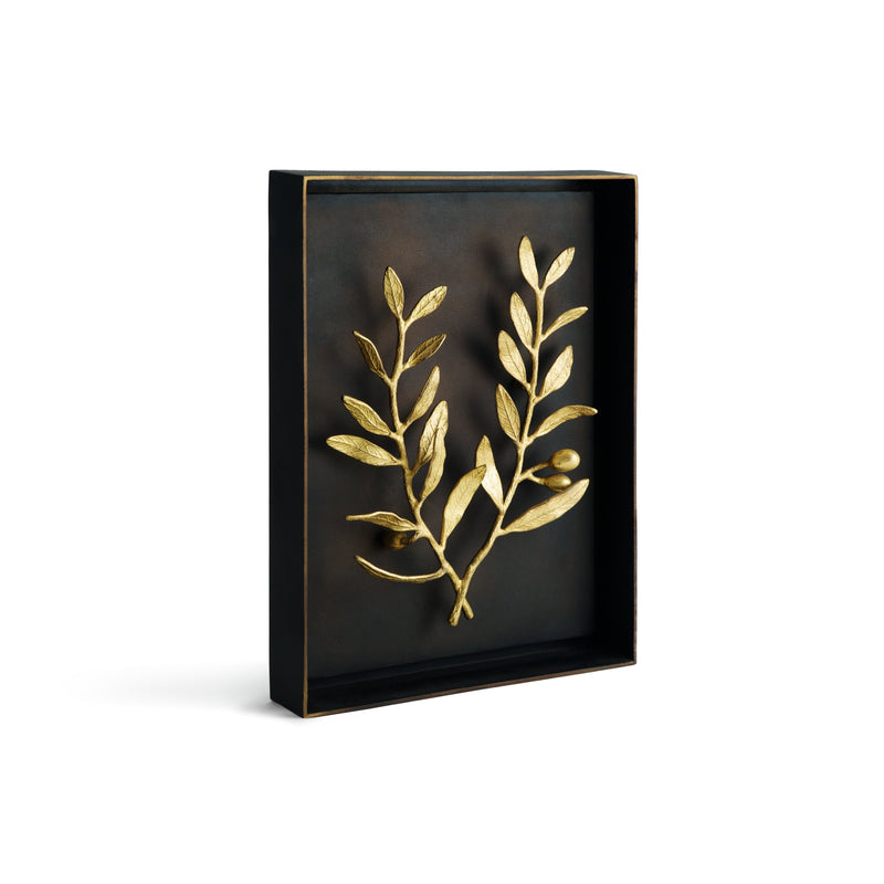 Michael Aram Olive Branch Shadow Box