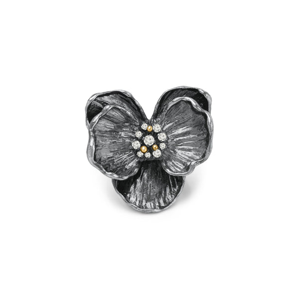 Michael Aram Orchid Ring with Diamonds