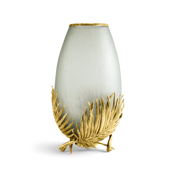 Michael Aram Palm Medium Glass Vase