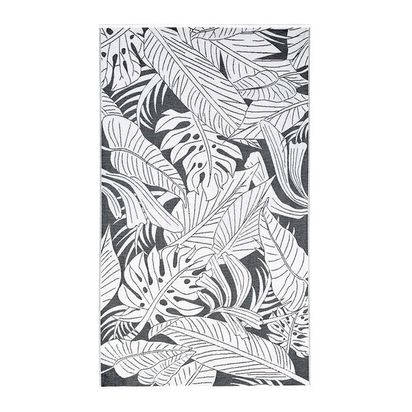 Michael Aram Palm Resort Towel - Black / White