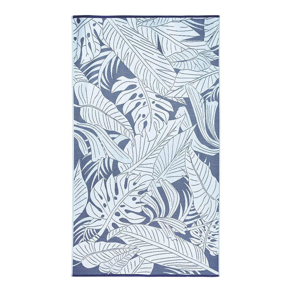 Michael Aram Palm Resort Towel - Deep Sea Blue / Turquoise