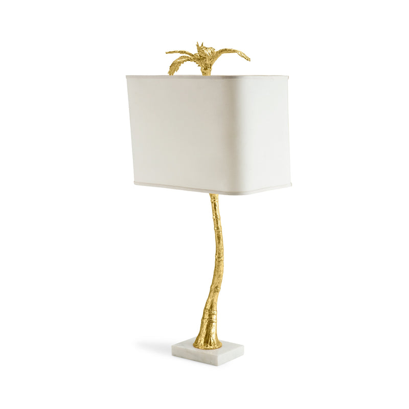 Michael Aram Palm Table Lamp - Marble