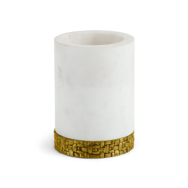 Michael Aram Palm Toothbrush Holder