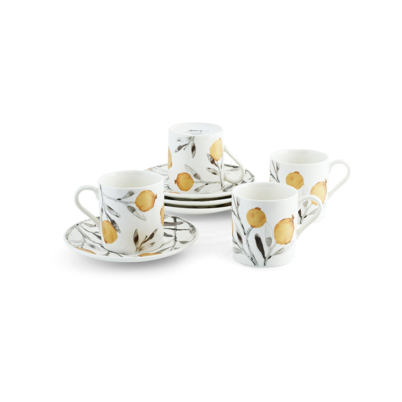 Michael Aram Pomegranate Demitasse Set