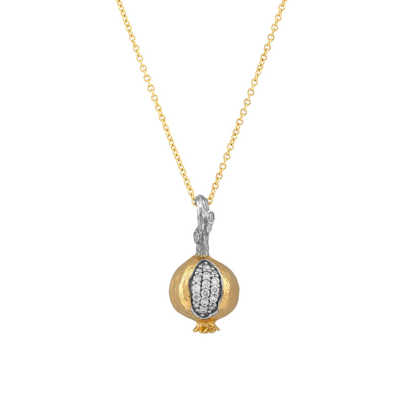 Michael Aram Pomegranate Pendant Necklace with Diamonds