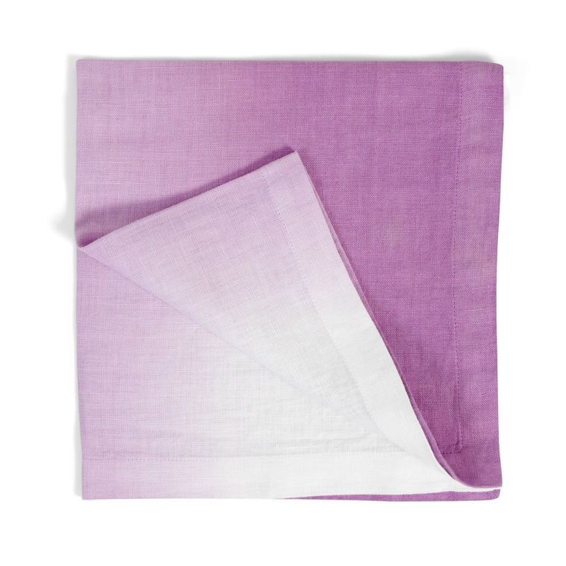 Michael Aram Purple Dip Dye Dinner Napkin