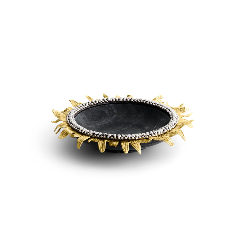 Michael Aram Sunflower Trinket Tray