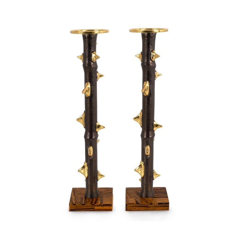 Michael Aram Thorn Luxe Candleholders