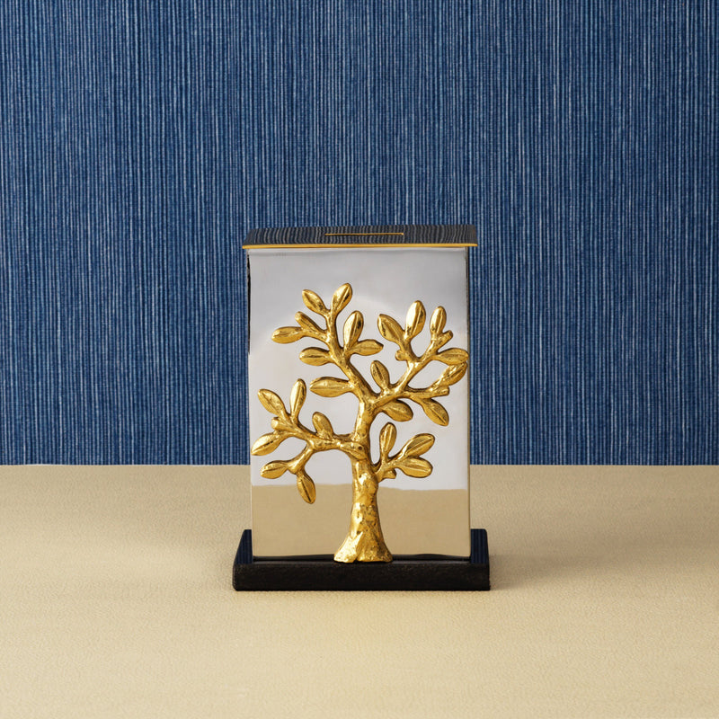 Michael Aram Tree of Life Tzedakah Box
