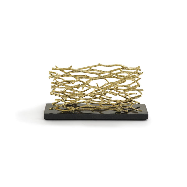 Michael Aram Twig Gold Vertical Napkin Holder