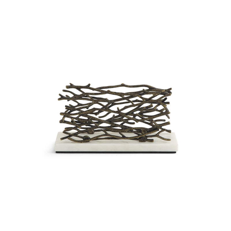 Michael Aram Twig Vertical Napkin Holder