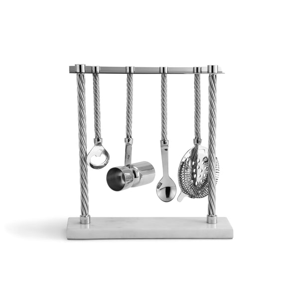Michael Aram Twist Bar Tool Set with Stand