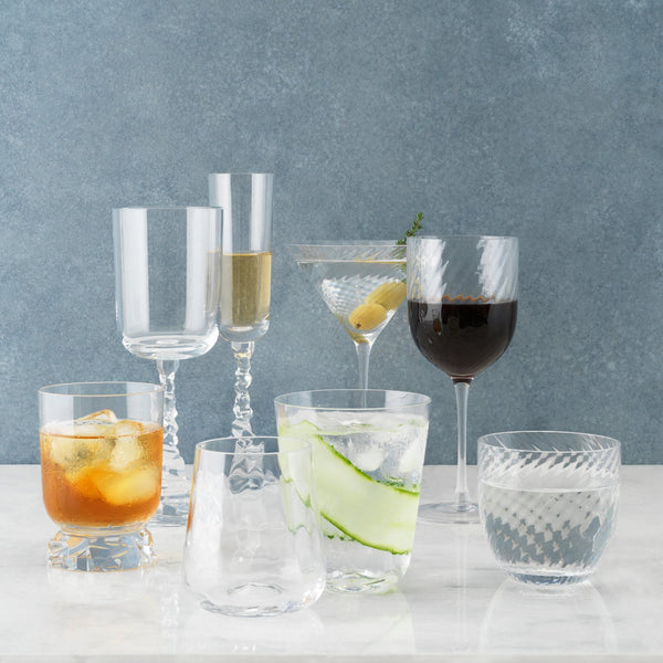 Michael Aram Twist Diamond Water Glass