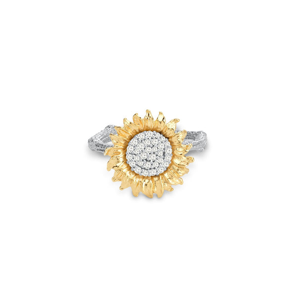 Michael Aram Vincent 15mm Ring with Diamonds
