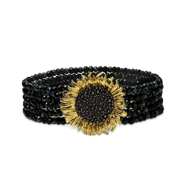 Michael Aram Vincent Multi Strand Bracelet with Onyx, Spinel and Black Diamonds