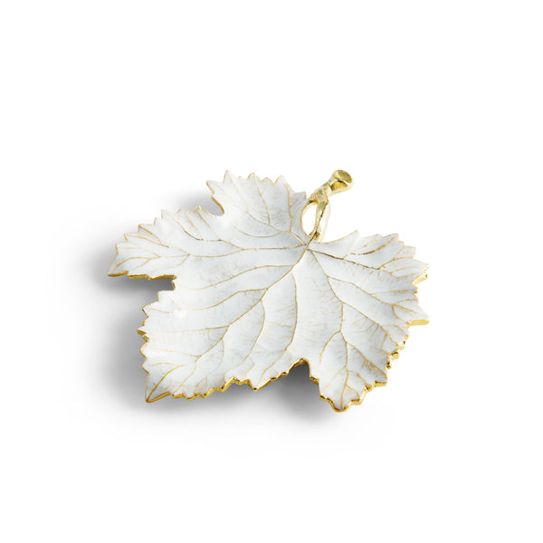 Michael Aram Winter Leaves Grape Leaf Dish