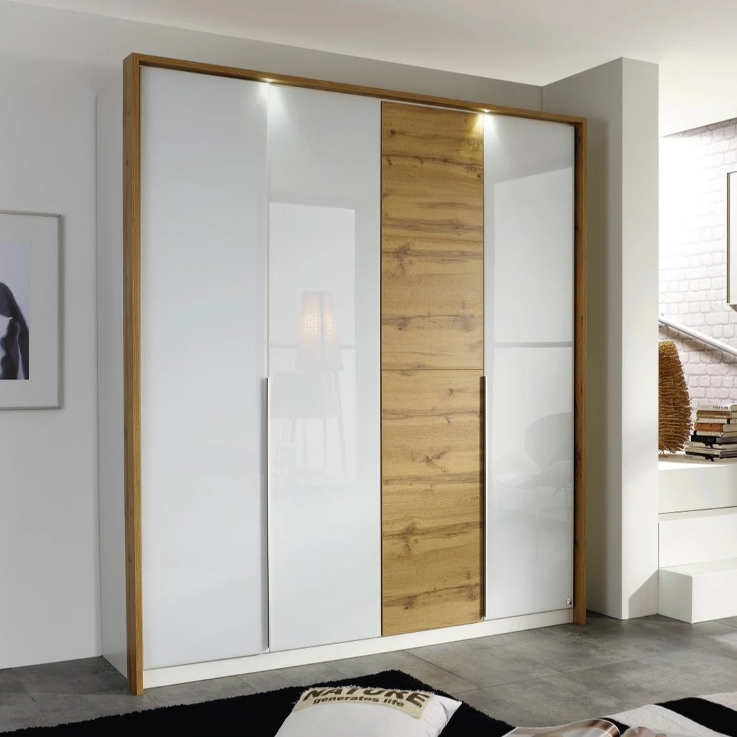 Bellezza Hinged Door Wardrobe