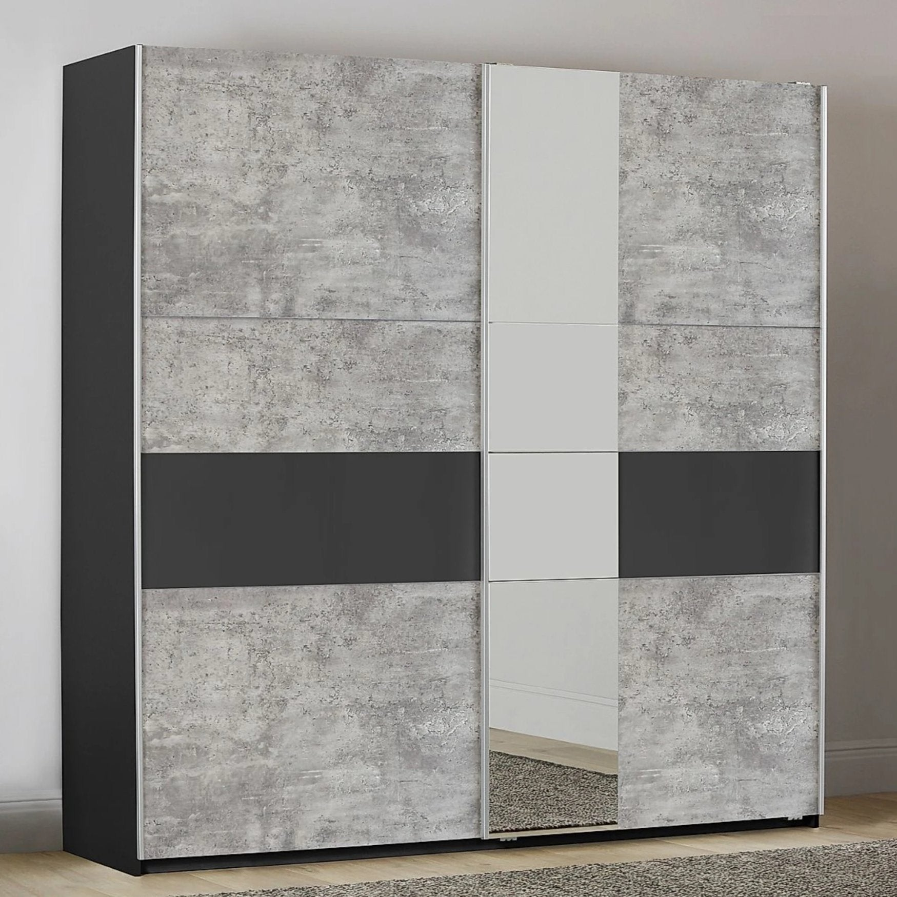 Korbach 2 Door Sliding Wardrobe