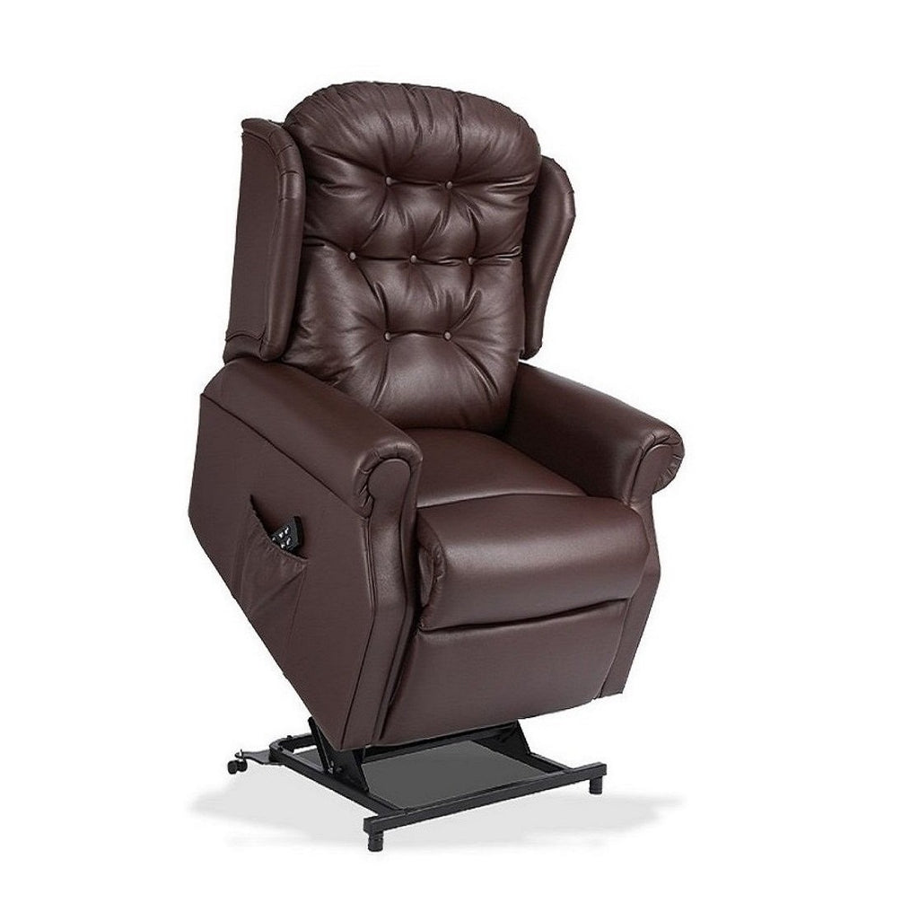 Woburn Leather Riser Recliner